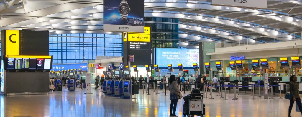 Airport Transfer from Cardiff to Heathrow Airport