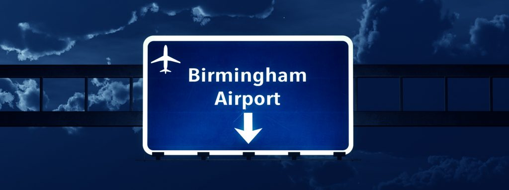 Taxi Cardiff to Birmingham Airport