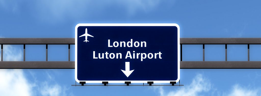 Luxury Taxi from Cardiff to Luton Airport